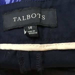 Talbots Shorts - Talbots 14 Navy Blue Shorts
